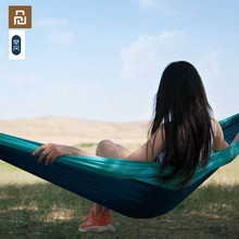 Youpin zaofeng Hammock Swing Bed 1 2Person Parachute Hammocks Max Load 300KG for Outdoor Camping Swings Parachute cloth
