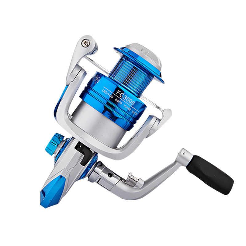 2019 nouvelle bobine de pêche EVE poignée souple 10 BB moulinet de pêche en métal professionnel gauche et droite moulinet de pêche