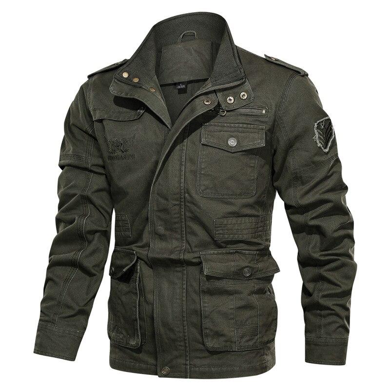 Куртка мужская хлопковая в стиле милитари, уличная одежда для спецназа, повседневная Боевая куртка, уличная одежда, большие размеры, 2020