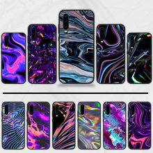 Hologram 3D Pelangi Gemerlapnya DIY Dicat Bling Phone Case Funda untuk Huawei P9 P10 P20 P30 Lite 2016 2017 2019 plus Pro P Smart(China)