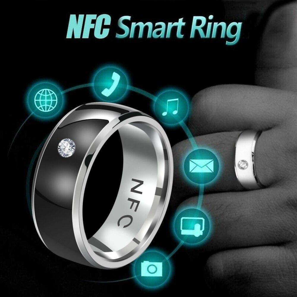 NFC смарт-кольцо на палец, многофункциональное интеллектуальное износостойкое соединение, кольца для телефона Android