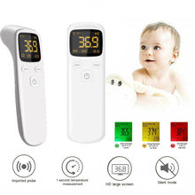 2020 New Infrared Digital Thermometer Baby Adult Forehead IR Non-touch Temperature Gun Dropshipping gun type infrared ir thermometer az 8859