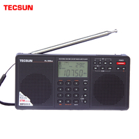 Tecsun PL 398MP Portable Radio 2.2 Full Band Digital Tuning Stereo FM/AM/SW Radio Receiver MP3 Player