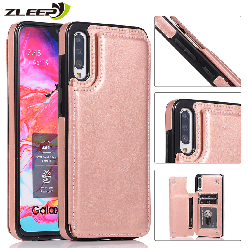 Luxury Leather <font><b>Case</b></font> For <font><b>Samsung</b></font> Galaxy S10 E S9 S8 <font><b>S7</b></font> <font><b>Edge</b></font> Note 8 9 10 Plus A10 A20 E A30 A40 A50 A70 S Wallet Phone Cover Coque image