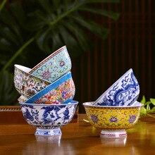 Ramen Soup Rice-Bowl Dinnerware-Accessories Food-Container Tableware-Bone Ceramic Chinese