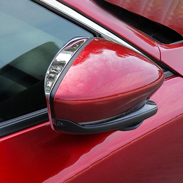 автомобильная наклейка на зеркало заднего вида дождевик для фотография