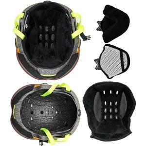 Image 5 - LOCLE Skiing Helmet Ultralight PC+EPS CE EN1077 Men Women Ski Helmet Outdoor Sports Snowboard/Skateboard Helmet