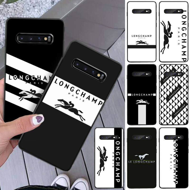 Longchamp Phone Case For Samsung S8 S9 S10e S20 PLUS Note 20 Ultra Coque Cover