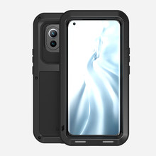 360 Armor Metal For xiaomi mi 11 case Cover silicone shockproof Coque Outdoor Fundas For xiomi Mi 11 Cases phone case