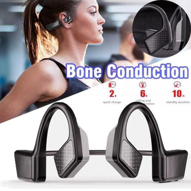 K08 Wireless Headphone 5 0 Bone Conduction Earphones Bluetooth Outdoor Sports Earphone Handsfree Headsets