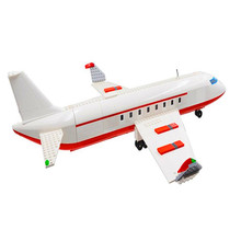 City Series 856pcs Airplane Airport Terminal DIY Station Set Building Blocks Friends Bricks for Children Toys Christmas Gifts(China)