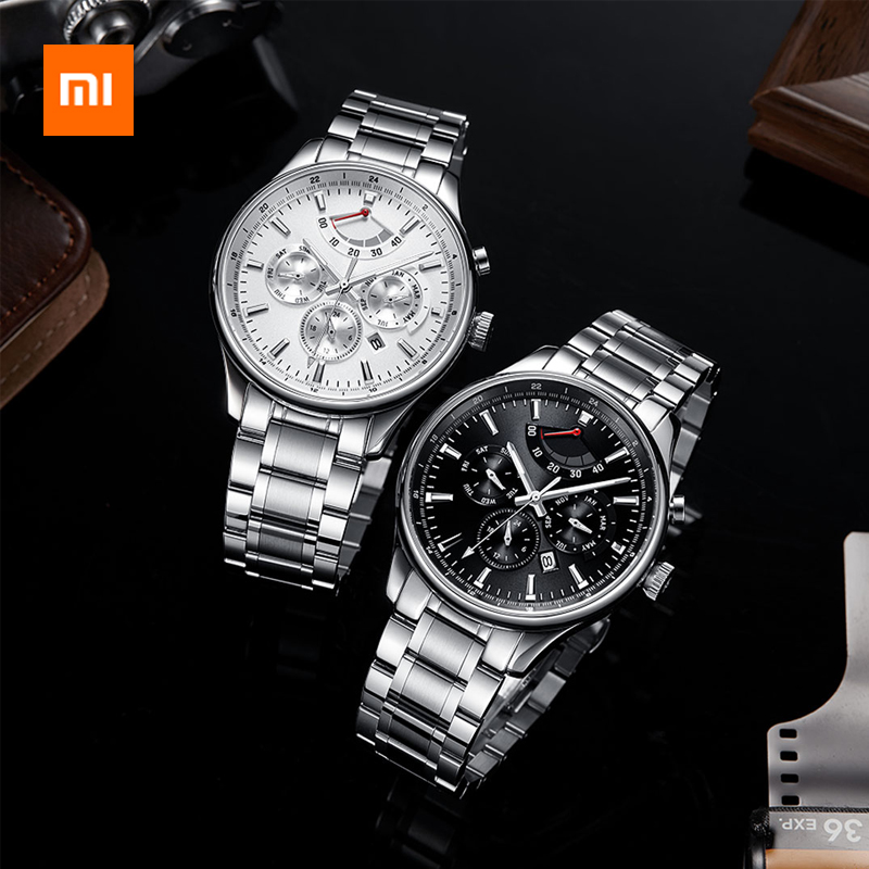 <font><b>Xiaomi</b></font> <font><b>Mijia</b></font> Lightweight Mechanical <font><b>Watch</b></font> - Business Elite Series Multi-function Dial Imported High-order Movement image