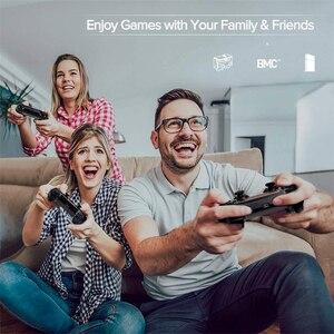 Image 2 - لوحة ألعاب لاسلكية ل PS4 صدمة مزدوجة أذرع التحكم في ألعاب الفيديو بلوتوث قابلة للشحن غمبد استبدال لمحطة اللعب 4