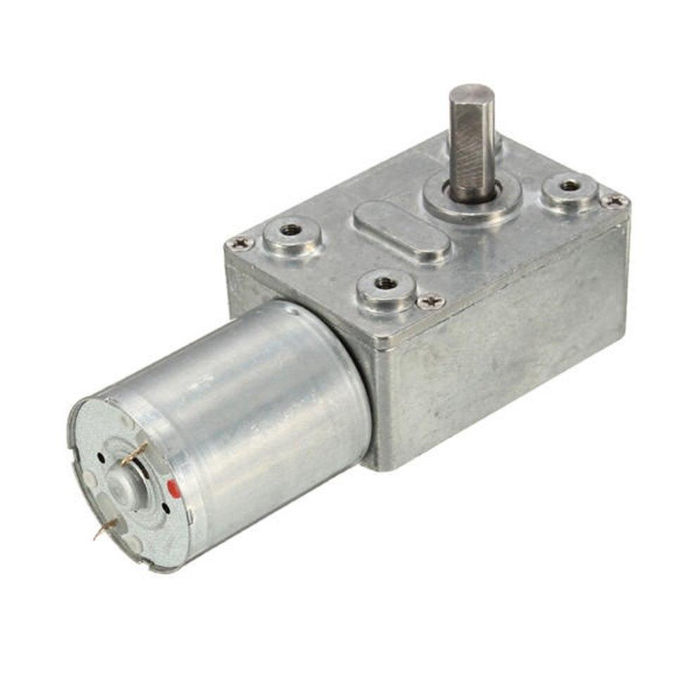 Gw370 Dc 12v 30 obr/min z dużym momentem obrotowym Turbo motoreduktor ślimakowy Dc reduktor