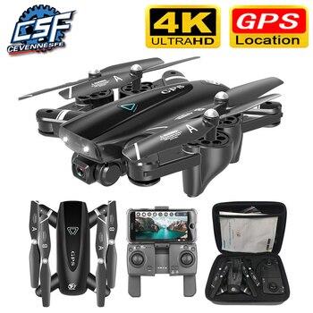 S167 GPS Drone con cámara 5G RC Quadcopter Drones HD 4K WIFI...