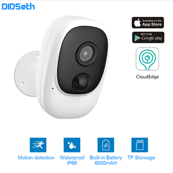 DIDseth 1080P WiFi Kamera Akku Powered IP Kamera Volle HD Outdoor Indoor IP66 Wasserdichte Drahtlose Sicherheit Kamera