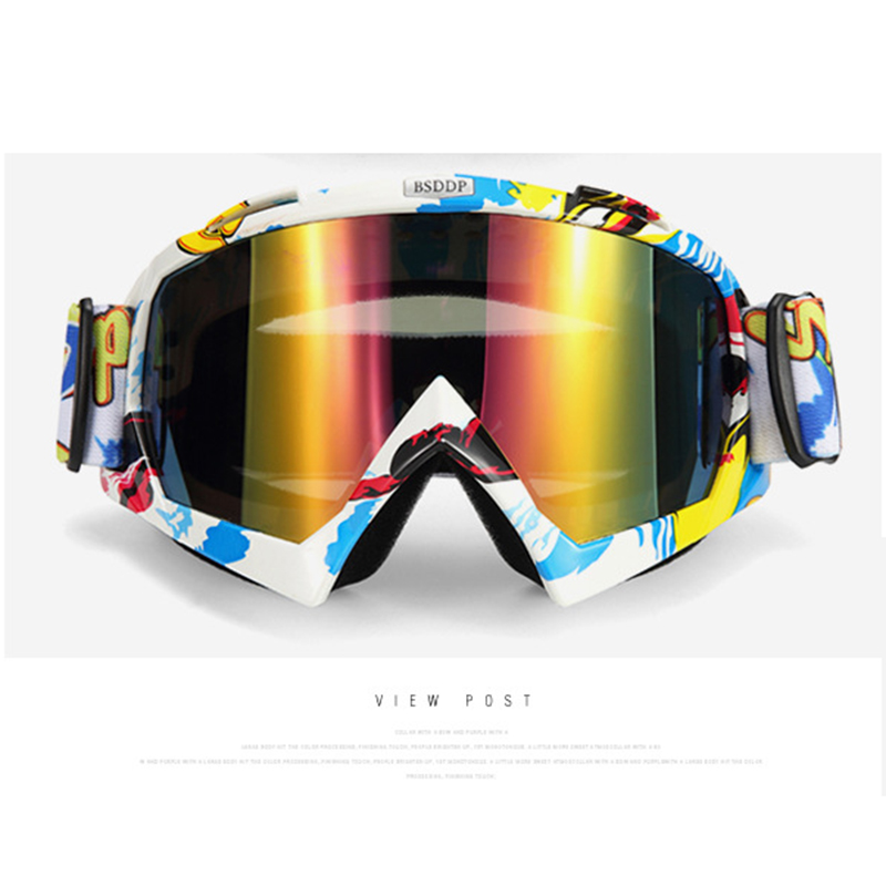 Children Snowboard Professional Adjustable Goggles Kids Comfortable Ski Goggles Skiing Glasses Eyewear Anti-fog Snow Glasses