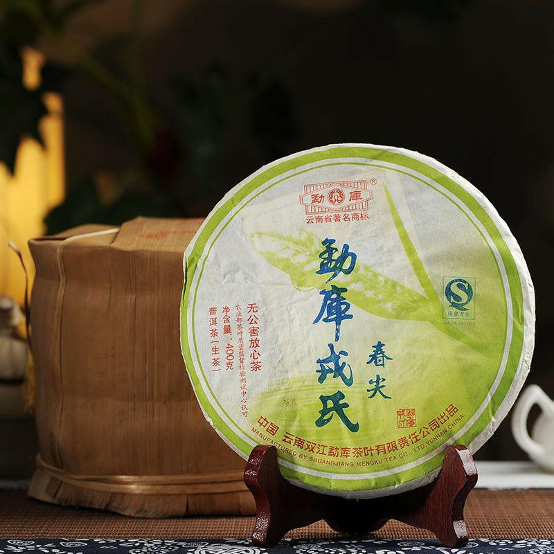 Spring Tip * Mengku Rongshi Pu Erh Puer Pu'er Tea 400g Raw Shen Green Cake 400g
