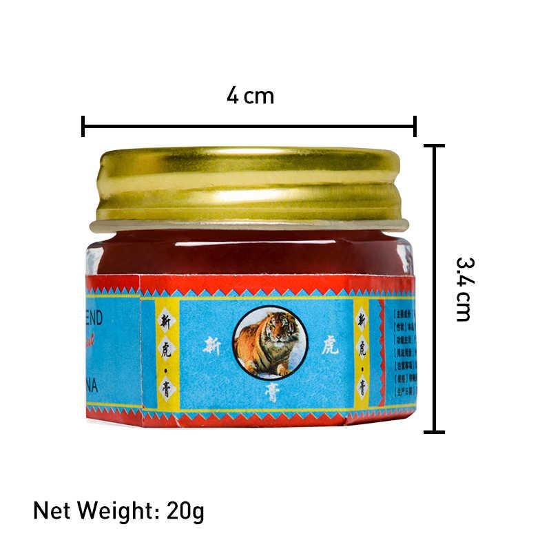 Czerwony tygrys balsam maść zapalenie stawów ból stawów Patch powrót szyi mięśni ściera się balsamu do ciała chłodny krem Plaster medyczny P0077
