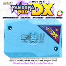 2020 Pandoraกล่องDX 3000 In 1 Jamma Board Hdmi Vga Cga Crtสแกนสายเพิ่มFBA MAME PS1 SFC SNES FC MDเกม3d Tekken(China)