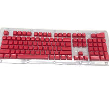 104 клавиши pbt miami двухцветная подсветка keycap универсальная
