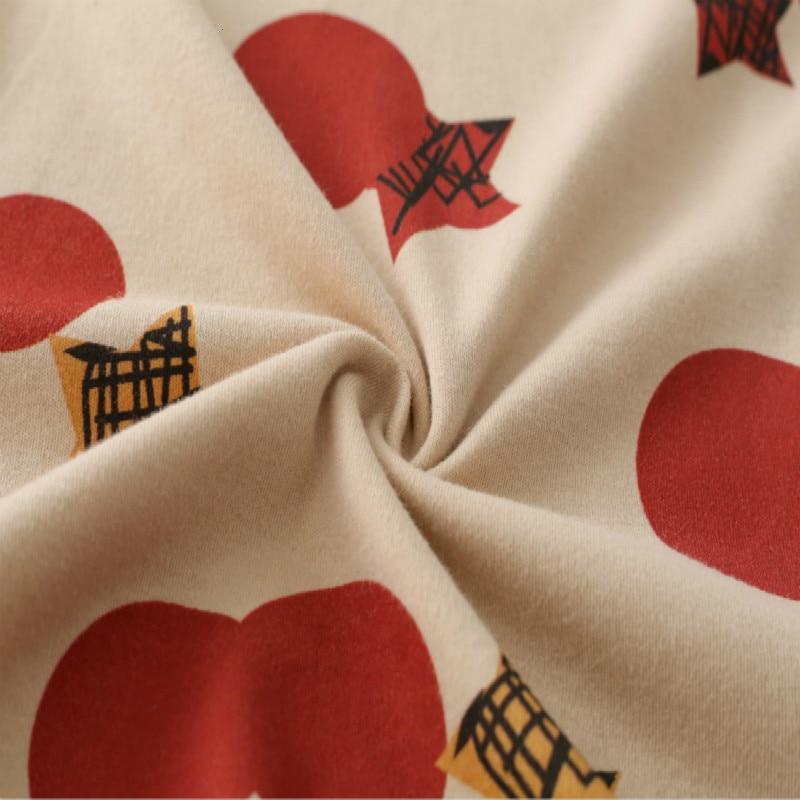 Autumn Winter Warm Comfortable Pajama M-3XL Women Plus Size Sleepwear Set Simple Cotton Women's Set Cardigan Button Pyjamas 5