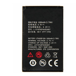 Li3710T42P3h553457 1000mAh For ZTE S100 S189 C360 C361 N600 N606 C170 H520 V16 High quality Replacement Battery