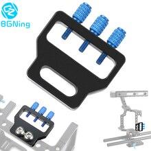 BGNing SLR USB kablosu kelepçe BMPCC 4K 6K HDMI kablosu için sabitleme kıskacı adaptörü tutucu Blackmagic tasarım cep sinema kamera