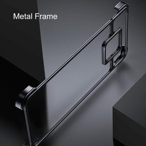 Image 4 - New Metal Frame Phone Case For huawei mate 20 30 mate 20 30 pro  Magnetic Attraction Bare Machine Feel Drop proof Phone Cover