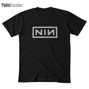 CAPTAIN NIN T shirt captain nin rock music inch funny nails nerd nine band shubuzhi men cotton tshirt summer brand top tees