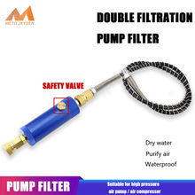 Hand-Pump PCP FILTERING Quick-Connector Paintball High-Pressure-Hose with 50cm M10x1-Thread