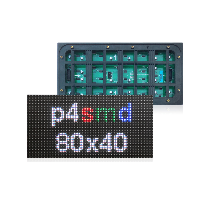 P4 outdoor 80x40 dots 320x160mm Led Module