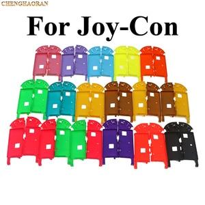 Image 3 - 1x Solide 14 Farben für Nintend Schalter NS Freude Con Ersatz Gehäuse Shell Abdeckung für NX JoyCons Controller Fall Grün rosa Teal