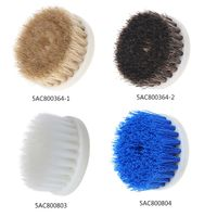 Drop Shipping 60mm Drill Powered Scrub Drill Brush Head For Cleaning Ceramic Shower Tub Carpet