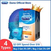 Durex Preservativo 4 Tipi di Ultra Sottile Cazzo Preservativo Intimo Merci di Prodotti Del Sesso In Lattice di Gomma Naturale Del Sesso Del Manicotto Del Pene Per Gli Uomini