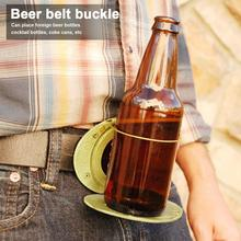 Bottle-Buckle Funny-Decoration Drinking-Camping Can-Holder Beer-Head-Belt Wine Portable Bar