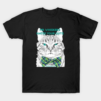 Men tshirt Mr Whiskers Mr Whiskers T Shirt women T-Shirt tees top