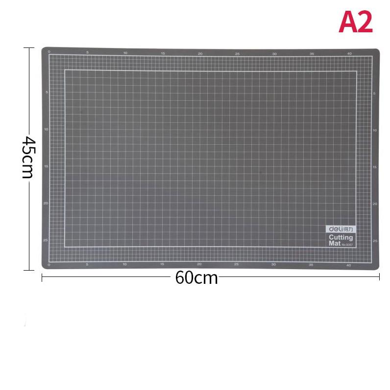 A2 Cutting Board Pvc Cardboard Durable And Self-healing 3mm Thick Manual Diy Protection Desktop Cutting Board Cutting Pad
