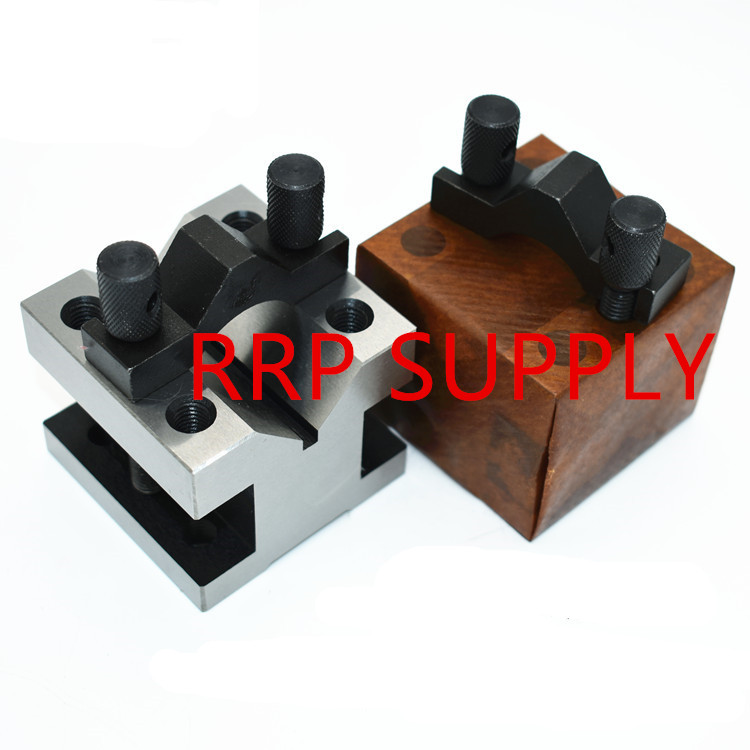 V block and clamping set 60x60x50mm 1set contains 2pcs clamping tools machinery accessories can be used