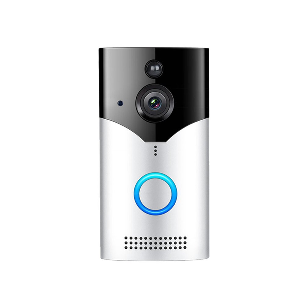 Home Wireless Wifi Visual Cat Eye Doorbell Intelligent Voice Intercom Video Infrared Anti-Theft Monitoring Doorbell