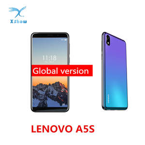 Lenovo A5s 2GB 16GB MT6761 GSM/WCDMA/LTE Adaptive Fast Charge Quad Core Face Recognition