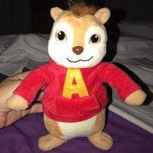 22 ve 32cm film Alvin ve sincaplar peluş oyuncaklar bebek Peluche sevimli sincap Theodore Simon doldurulmuş oyuncaklar çocuk bebek hediye