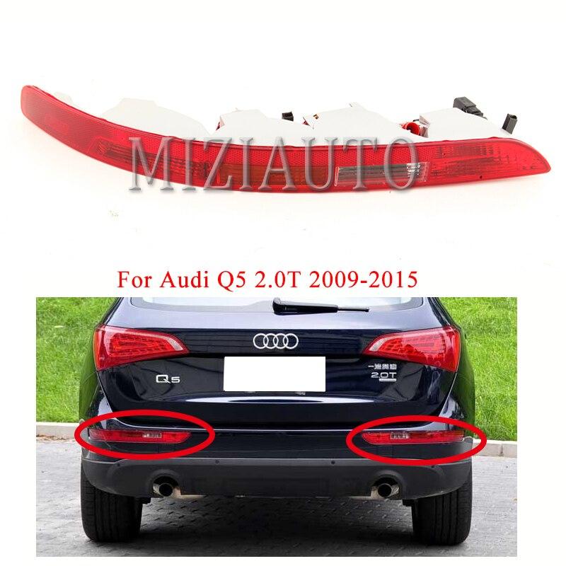 Links/Rechts Hinten Stoßstange Reflektor Licht Für Audi Q5 2,0 T 2009-2015 Bremse Nebel Licht Stopp Drehen signal Lampe Auto Zubehör