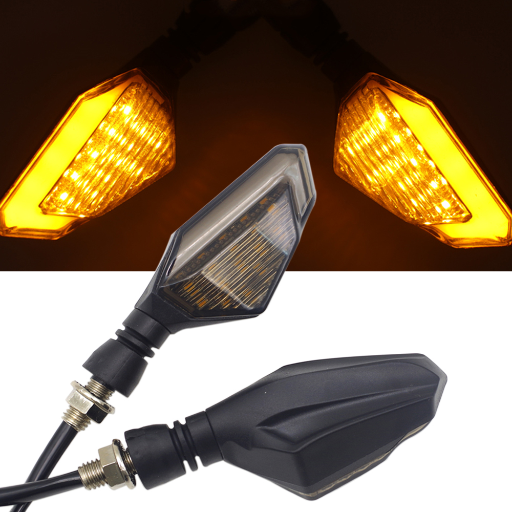 FOR Suzuki Boulevard M109r Royal Enfield Motorcycle Accessories Turn Signal Lights Indicator Led Blinker Amber Flasher Light