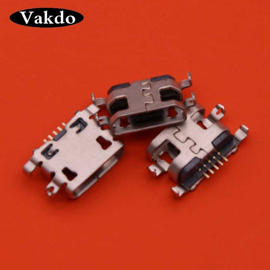 1 Pcs Voor Alcatel One Touch Pop 3 OT5025 OT5025 5025 5025D Power Poort Opladen Vervanging Mini Micro Usb Socket plug Connector