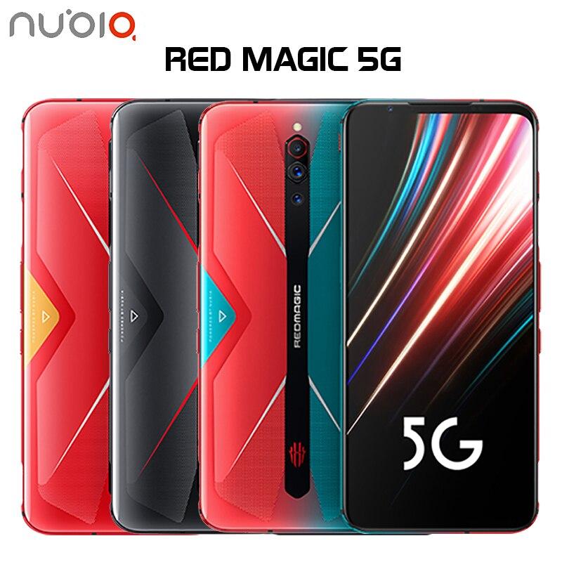 Original Nubia magia roja, 5G teléfono móvil 6,65