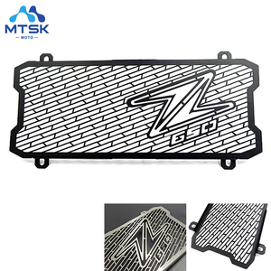17-19 Z650 Motorcycle Accessories Stainless Steel Radiator Grille Grill Protector Guard For Kawasaki 2017 2018 2019 Z650 Z 650(China)