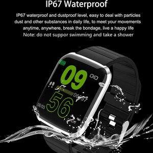 Image 2 - Reloj inteligente IP67 para Android IOS, reloj inteligente deportivo resistente al agua con control del ritmo cardíaco y del oxígeno para hombre y mujer