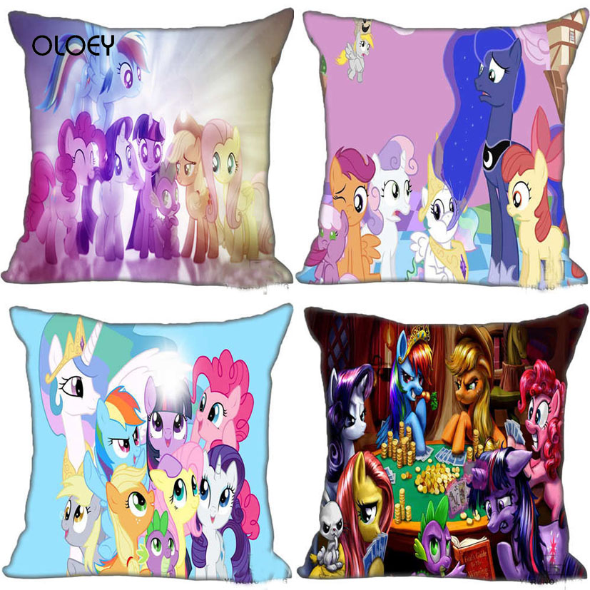 Unique Cute Anime Animal Polyester Pillowcase Home Bedroom Hotel Car Seat Decorative Pillowcase Soft And Comfortable 45x45cm  ..