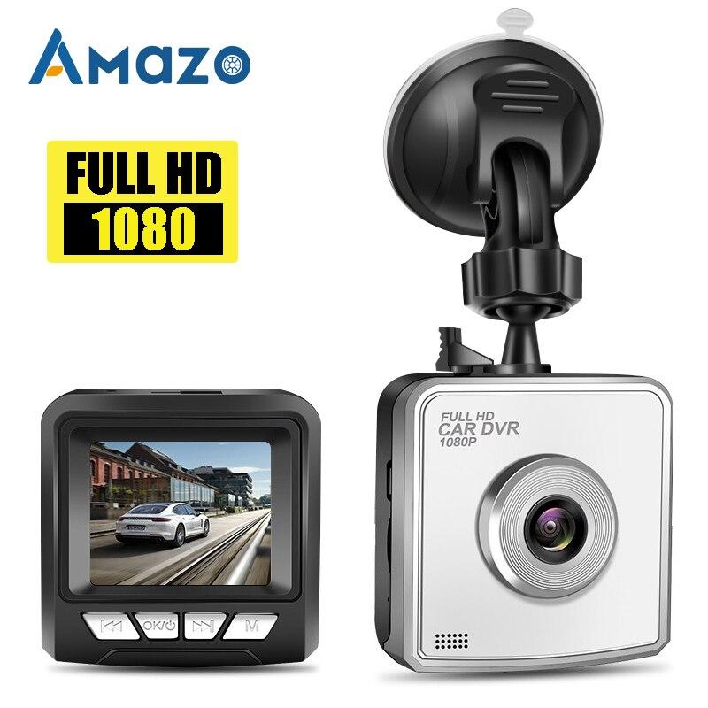 VGA Car DVR Dash Camera Driving Recorder 2 Inch HD 1080P Lens TF Card Reader G Sensor Loop Recording Wide Angle Night Vision